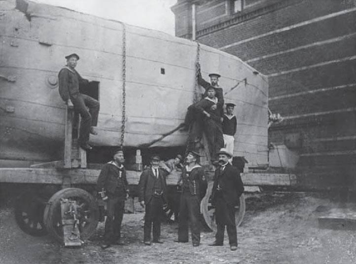 Brandtaucher. Первая подводная лодка Германии