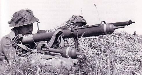 Противотанковые средства британской пехоты (часть 1)