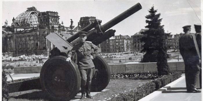 Артиллерия. Крупный калибр. 122-мм гаубица М-30 образца 1938 года