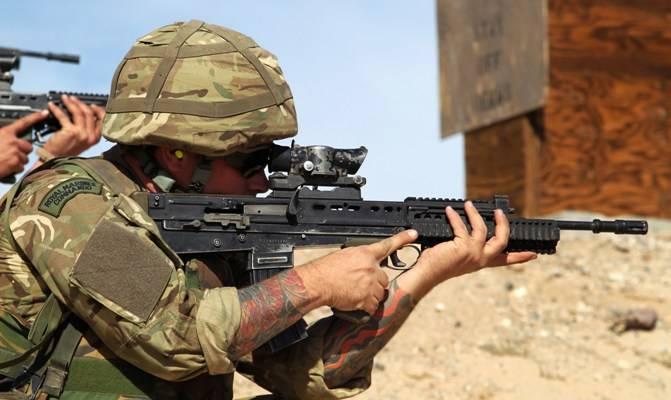 SA 80 Enfield L85A1 Fusil automatique - Automatic rifle . 1528495445_1466094162681