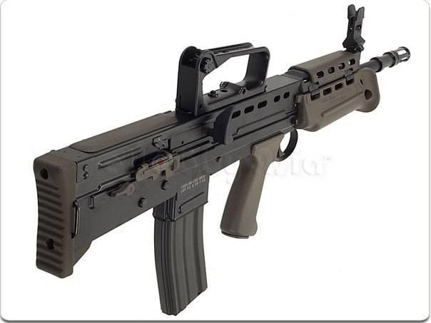 SA 80 Enfield L85A1 Fusil automatique - Automatic rifle . 1528495515_kef32pwolcs