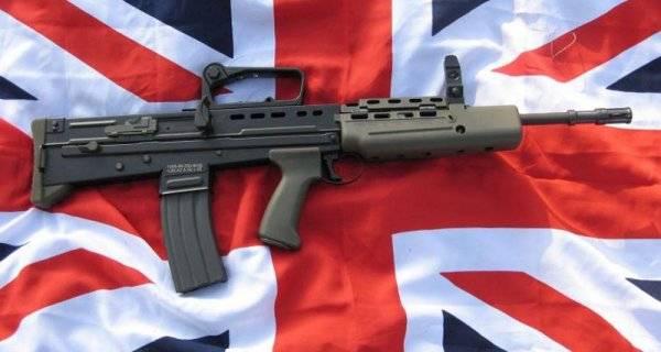 SA 80 Enfield L85A1 Fusil automatique - Automatic rifle . 1528495612_icon_128095598917