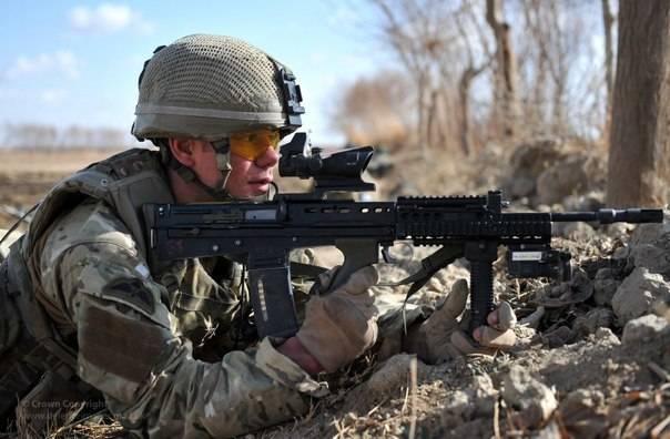 SA 80 Enfield L85A1 Fusil automatique - Automatic rifle . 1528495659_lffnoszocmy