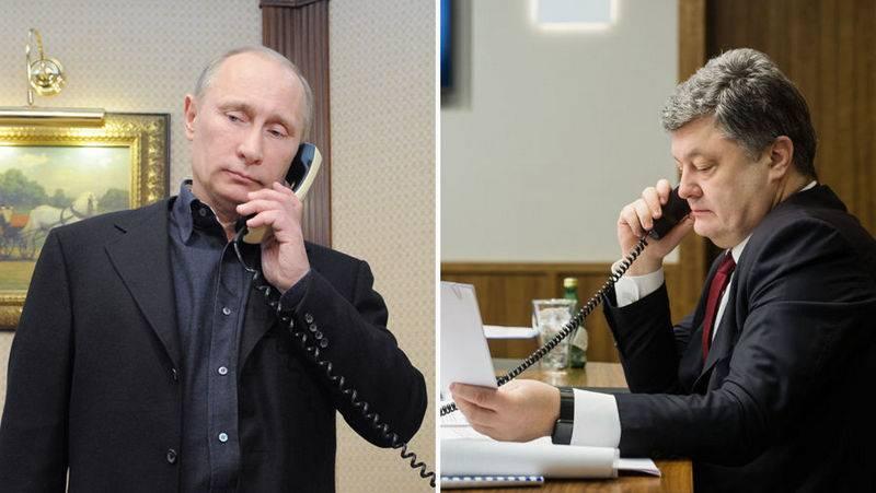 Путин поговорил с Порошенко. Что осталось за рамками официальных сообщений?