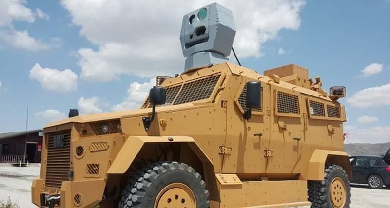 Турция заявила о разработке лазерного оружия