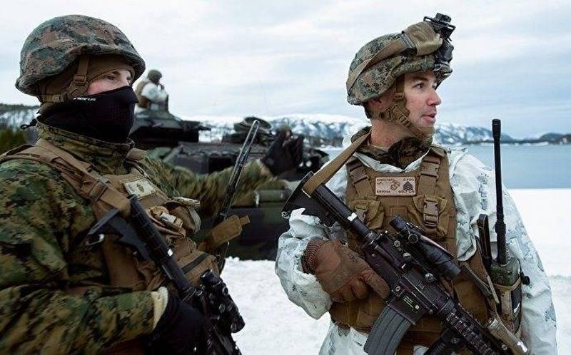 Норвегия желает  удвоить число расположенных  усебя морпехов США