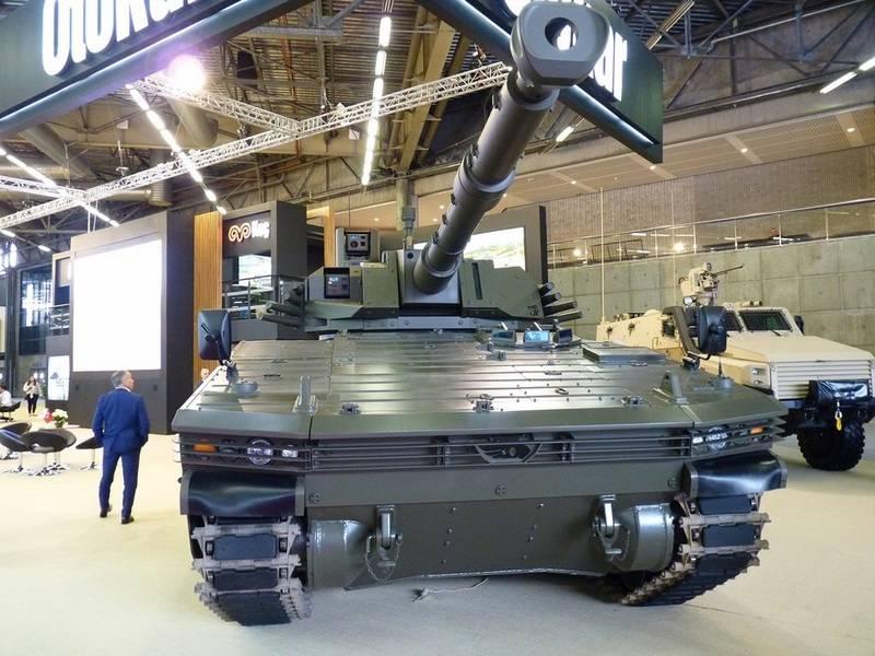 Турецкая армия получит новый легкий танк