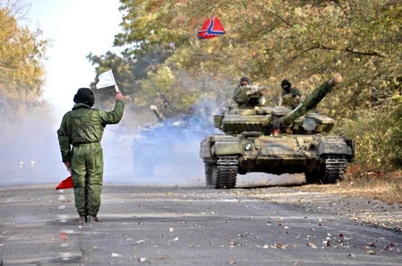 ДНР намерена подвинуть свою армию ближе к линии разграничения