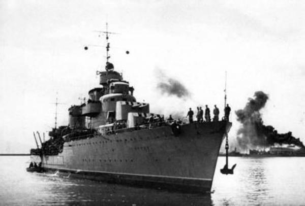 Неожиданная война гитлеровской Германии с СССР. Часть 12. ВМФ