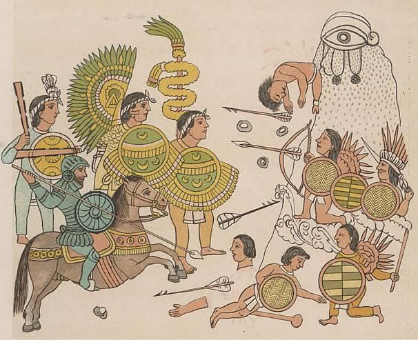 Конкистадоры против ацтеков (часть 3)