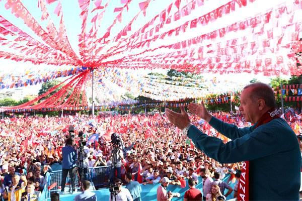 Результаты выборов вТурции огласят 5июля