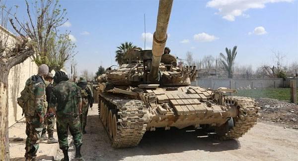 САА ракетными ударами разорвала оборону боевиков в районе Дараа. Началось наступление