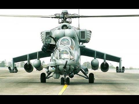 Ударные вертолёты. Грозные винтокрылые машины