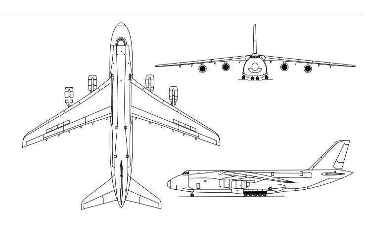 В РФ создадут сверхтяжелый самолет насмену «Руслану»