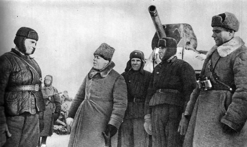 Танковый Суворов Павел Рыбалко