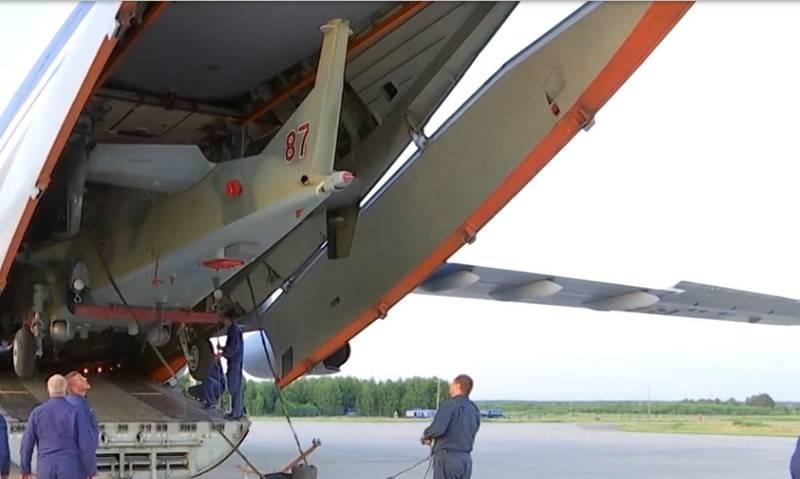 Минобороны РФ продолжает вывод лётной техники из Сирии