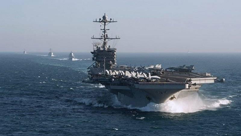 Авианосная группа ВМС США покинула Средиземное море