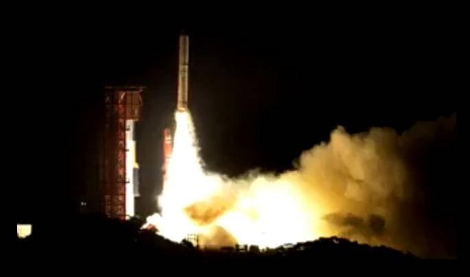 Японская личная ракета упала после запуска