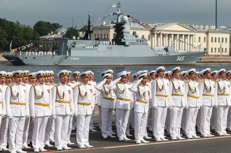 МО РФ: Главный военно-морской парад начнется с исторической части