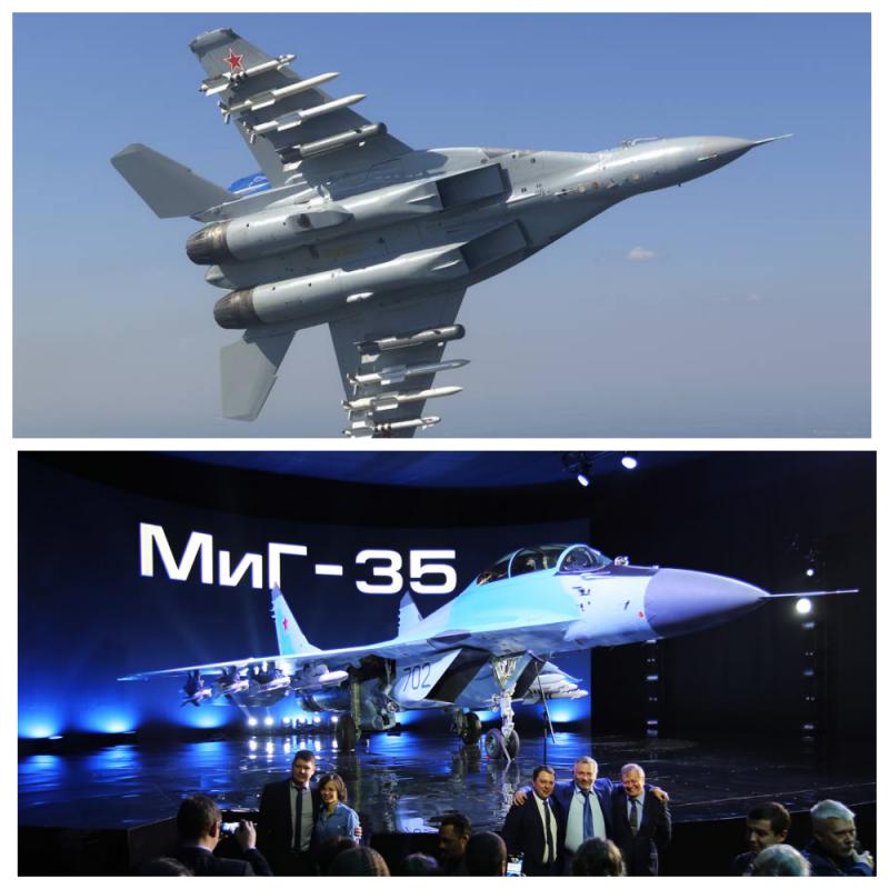 МиГ-35: гора сюрпризов для противника. Лучший в своём классе!