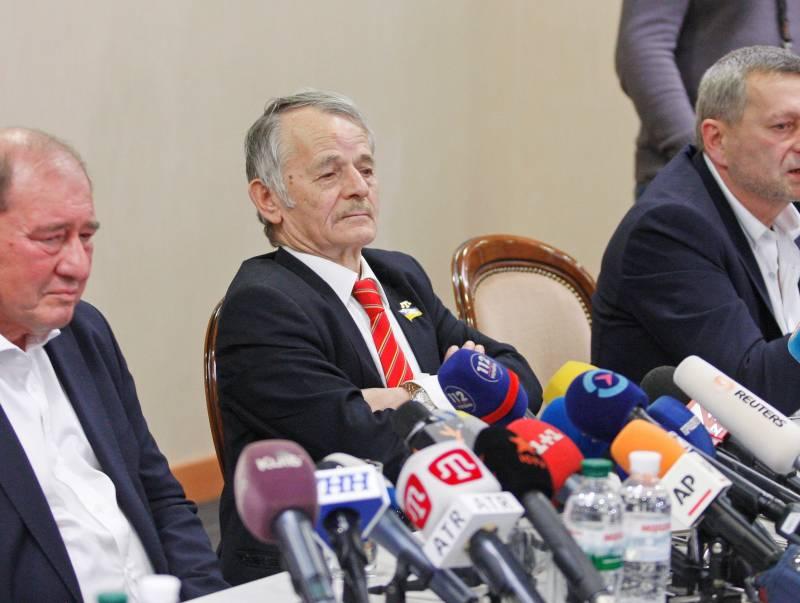 Джемилев: Крым «засыхает» без днепровской воды