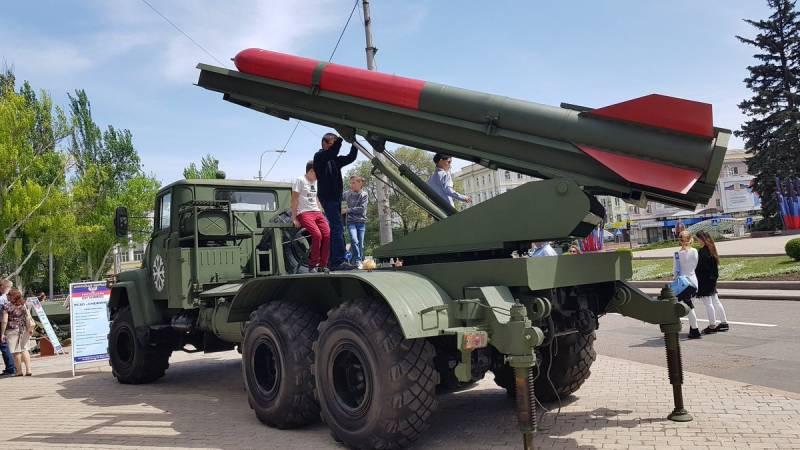 ДНР продемонстрировала ракетную систему «Снежинка» в действии
