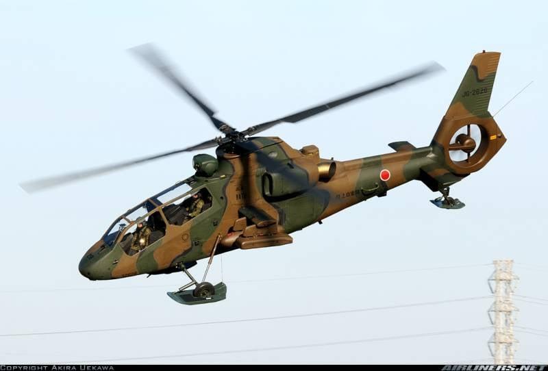 """Сверхлегкий японский """"Ниндзя"""" Kawasaki OH-1"""