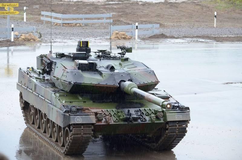 ОБТ Leopard 2 и его задача: исключить потери