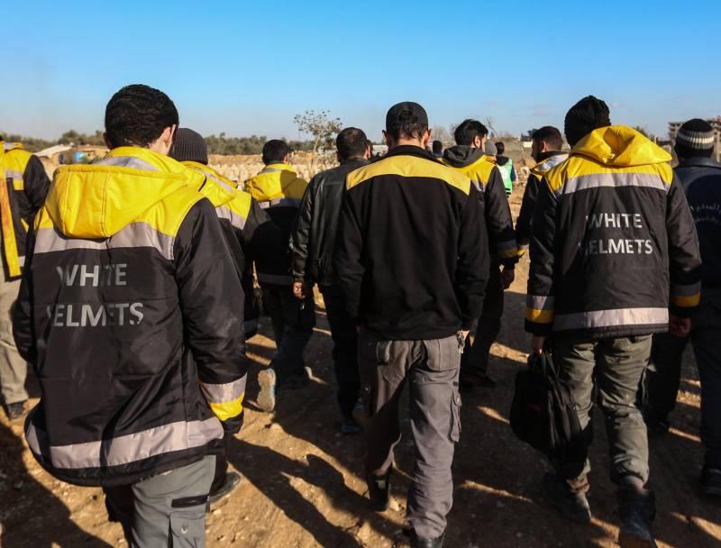 Очередную провокацию в Сирии «Белые каски» готовят в Идлибе