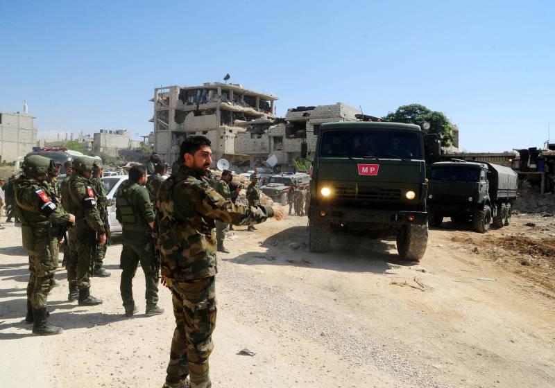 Ситуация в Сирии. В Дараа сложили оружие более 600 боевиков