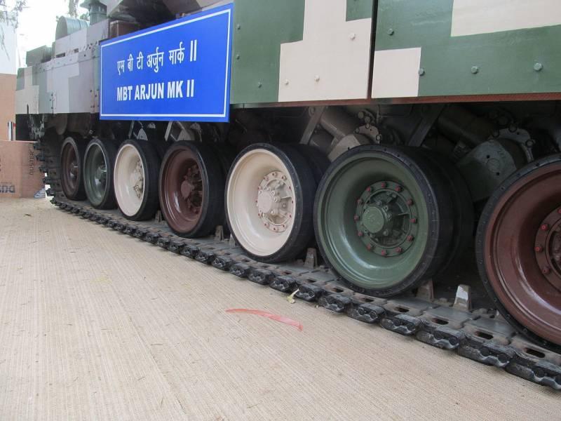 Танки. Индийский  основной боевой танк Mk 2 «Арджун»