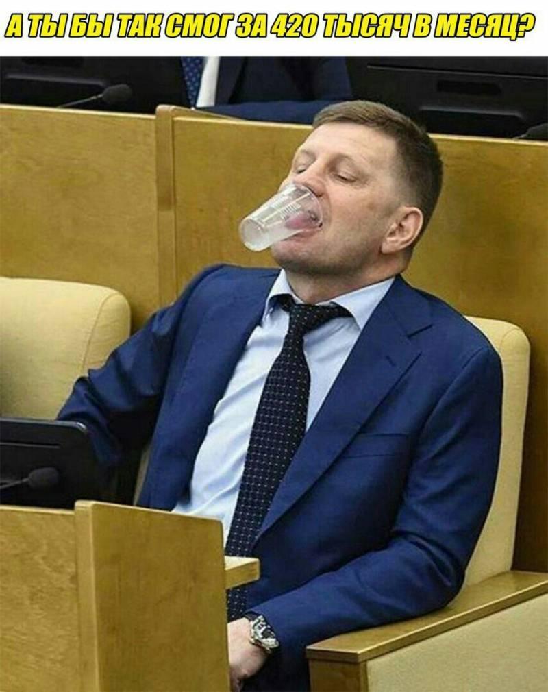 Государственная дума  приняла впервом чтении закон оповышении НДС