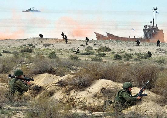 На Западе оценили развитие российской морской пехоты