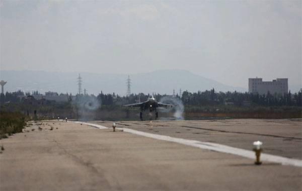 """СМИ: Авиабазу """"Хмеймим"""" снова пытались атаковать с воздуха"""