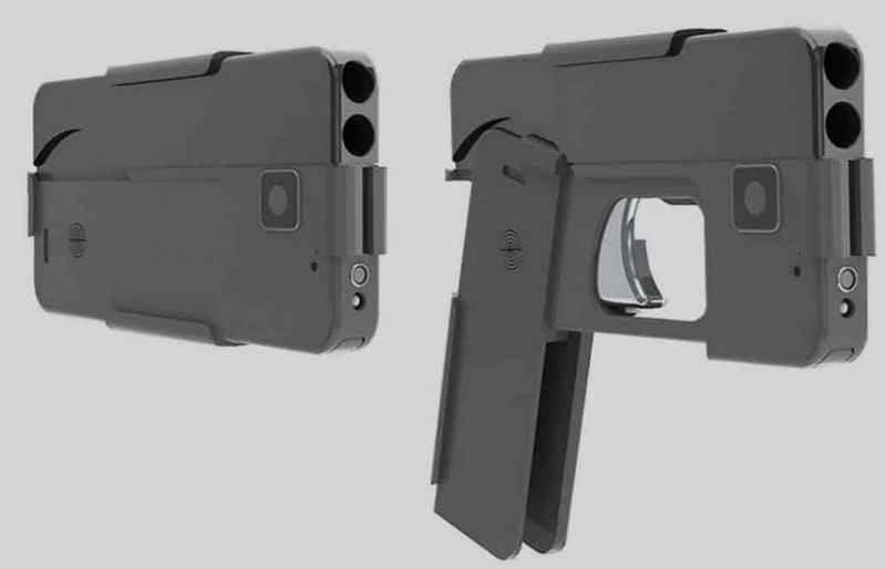 Стартовали продажи пистолета-смартфона