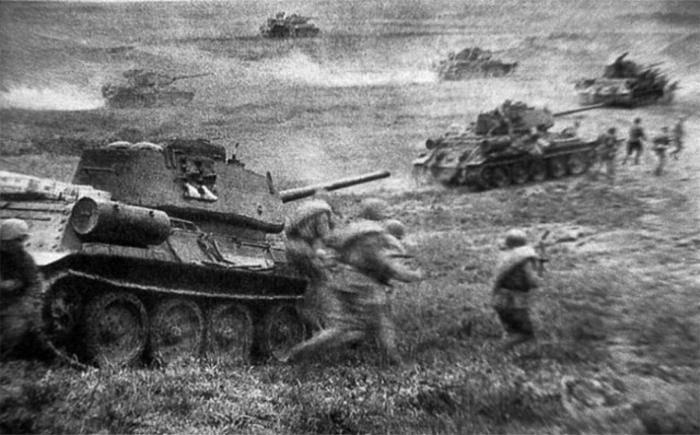 Prokhorov, Sovyet tankerlerinin trajedisi. 2'in bir parçası
