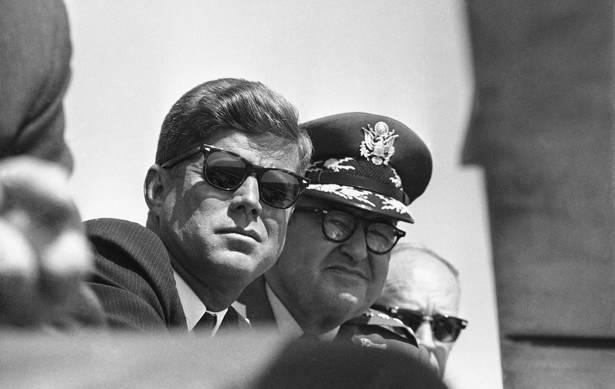 Генерал Ламей с президентом Кеннеди