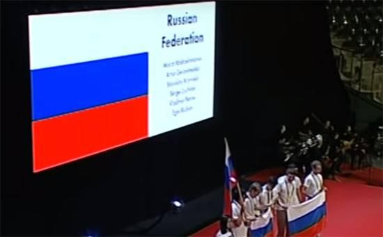Успех российских школьников на международной олимпиаде по математике