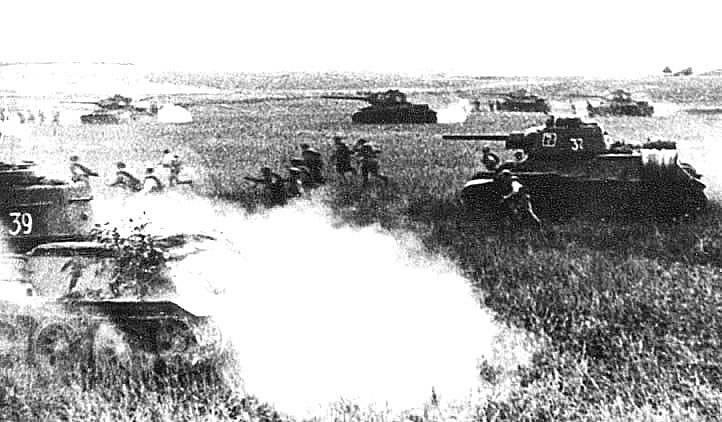 Prokhorov Tragödie der sowjetischen Tanker (das Ende)