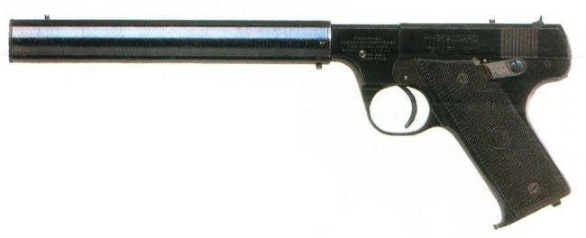 Бесшумный пистолет High Standard HDM (США)