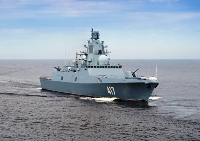 ОСК передаст флоту фрегат «Адмирал Горшков» кодню ВМФ