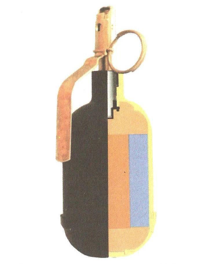 Термобарическая ручная граната РГ-60ТБ