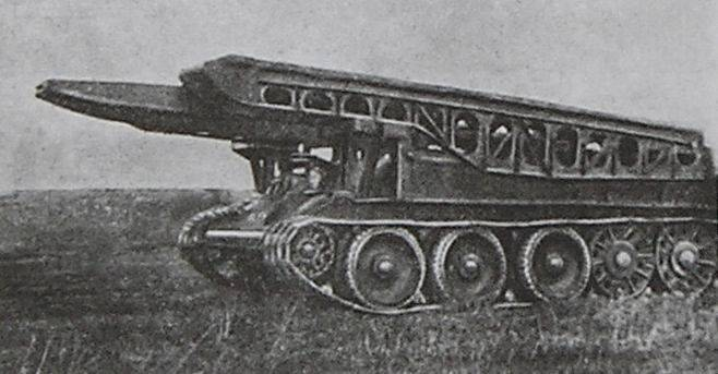 Tank bridge TM-34