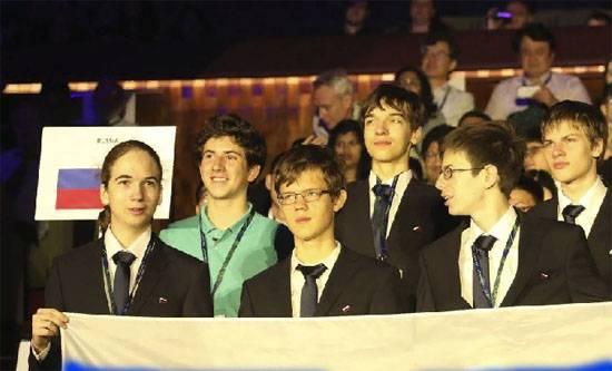 Чудо-команда Четыре золота российских школьников на олимпиаде по физике
