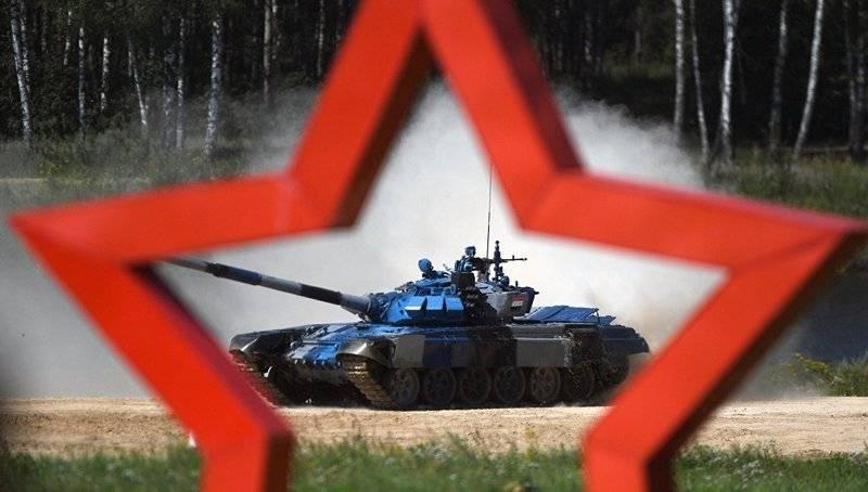 "Notizie dal concorso ""Tank Biathlon-2018"""