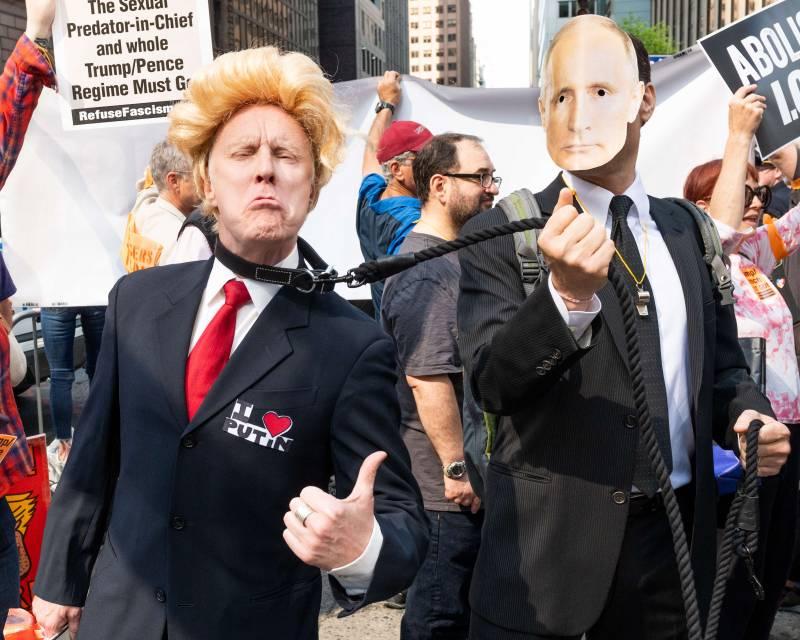 Трамп должен Путину, об этом рассказали Американские СМИ