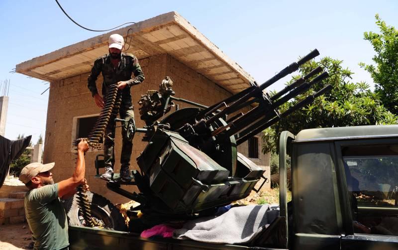 Сводки из Сирии. Боевикам в Дараа осталось не долго