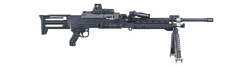 Пулемёты.Облегчённые ручные пулемёты Barrett 240LW и 240LWS