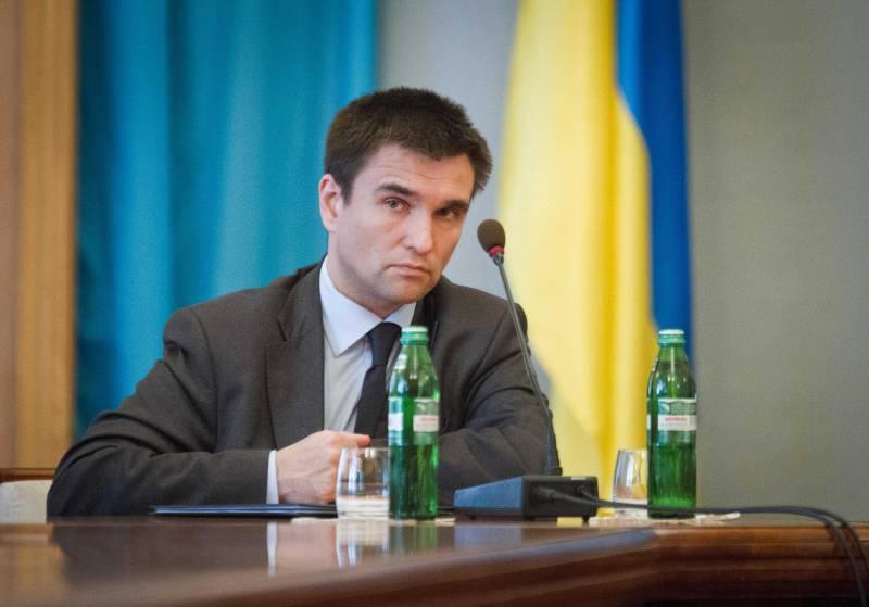 Климкин: референдум в Донбассе – это репетиция развала Украины