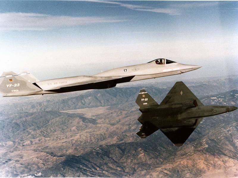 Самолёты.Бесславный конец «Чёрной вдовы». Почему проиграл YF-23